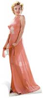 Marilyn Monroe 'Peach Night-Gown' Cardboard Cutout