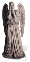 Weeping Angel (Blink Angel) - Cardboard Cutout