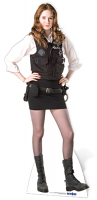 Amy Pond (Policewoman Uniform) - Cardboard Cutout