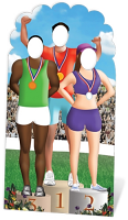 Olympic Games Stand-In - Cardboard Cutout