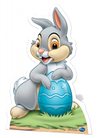 Thumper with Easter egg - Cardboard Cutout