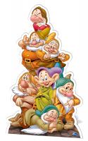 Seven Dwarves - Cardboard Cutout