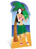 Hula Girl Stand-In