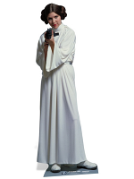 Princess Leia Organa Star Wars Official Lifesize Cardboard Cutout