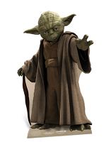 Yoda (Mini) Star Wars Official Cardboard Cutout