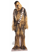 Chewbacca Classic Star Wars Official Lifesize Cardboard Cutout