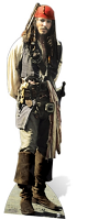 Captain Jack Sparrow Pirate Johnny Depp - Cardboard Cutout