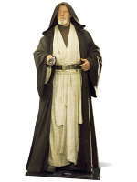 Obi Wan Kenobi (Alec Guiness) Official Star Wars Lifesize Cardboard Cutout