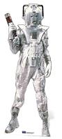 Classic Cyberman - Cardboard Cutout