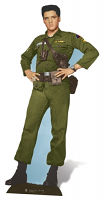 Elvis Presley Army Days - Cardboard Cutout