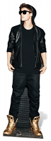 JUSTIN BIEBER (GOLD SHOES) - Cutout