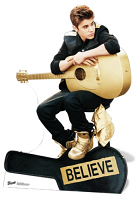Justin Bieber (Believe) - Cutout