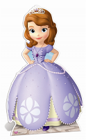 Sofia the First Cardboard Cutout