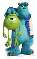 Mike and Sulley - Cardboard Cutout