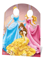 Disney Princess Stand In - Cardboard Cutout