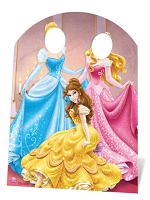 Disney Princess Stand In - Cardboard Cutout