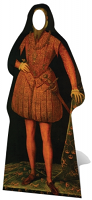 Tudor Man Stand-In - Cardboard Cutout