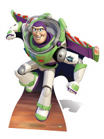 Buzz Lightyear 'wings' - Cardboard Cutout