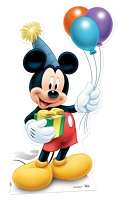 Mickey Mouse 'Party' - Cardboard Cutout