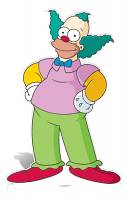 Krusty the Clown - Cardboard Cutout