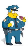 Police Chief Wiggam The Simpsons Lifesize Character Cutout
