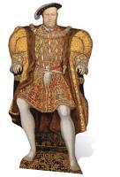 King Henry VIII - Cardboard Cutout