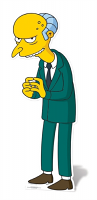 Mr Burns - Cardboard Cutout