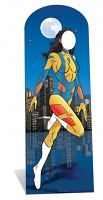 Female Superhero Stand In Cutout