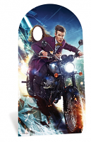 The Doctor and Clara Stand In - Cardboard Cutout