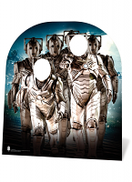 Cyberman Stand In (child) - Cardboard Cutout