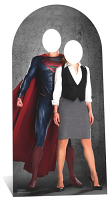 Superman & Lois Lane Stand-In - Cardboard Cutout