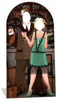 Roaring 20'S Stand-In - Cardboard Cutout