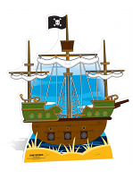 Pirate Ship - Cardboard Cutout