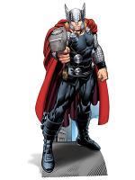Thor Avengers Assemble Marvel Lifesize Cutout