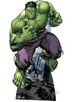 Hulk Avengers Assemble Marvel Lifesize Cut out