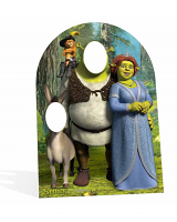 Shrek Stand-In (Child-Sized) Cardboard Cutout