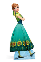 Anna New (Frozen Fever) Cardboard Cutout