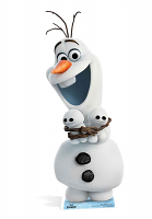 Olaf from Frozen Cardboard Cut-out SC825