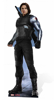Winter Soldier (Movie) - Cardboard Cutout