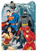 Justice League Stand-IN Animated Child Size Cardboard Cutout DC Comics