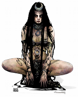 Enchantress (Suicide Squad Comic Artwork) Cutout