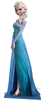 Elsa (Frozen) Star-Mini - Cardboard Cutout