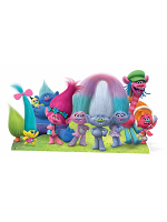 Trolls True Colours Group Cutout