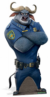 Chief Bogo Cape Buffalo - Cardboard Cutout