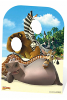 Madagascar Stand-In (Child-sized) - Cardboard Cutout