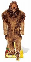 The Cowardly Lion from The Wizard of Oz - Cardboard Cutout