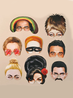 Music Icon Mask's - Pack of 8