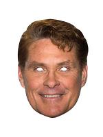 David Hasselhoff Face Mask