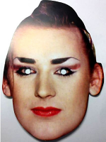 Boy George Face Mask