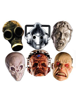 Doctor Who Face Masks - Pack of 6  * only one pack left *